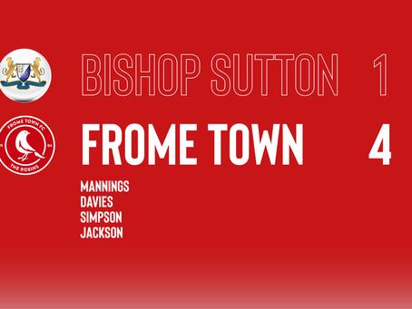 PRE-SEASON: Bishop Sutton 1-4 Frome Town
