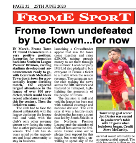 Frome Town FC