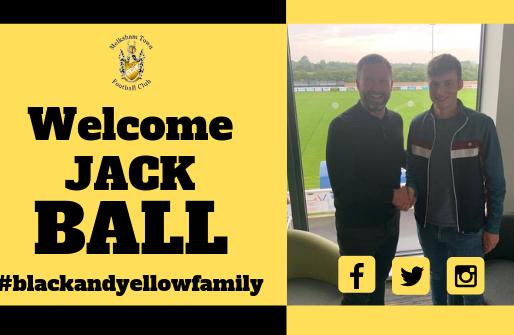 New signing- Jack Ball