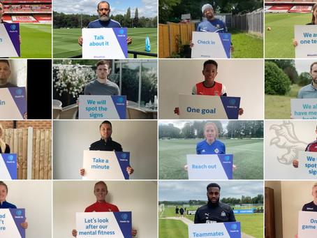 FOOTBALL LEADERS COME TOGETHER FOR 'LANDMARK'MENTAL HEALTH DECLARATION
