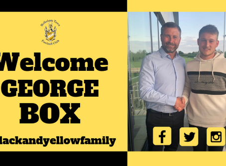 George Box commits to MTFC