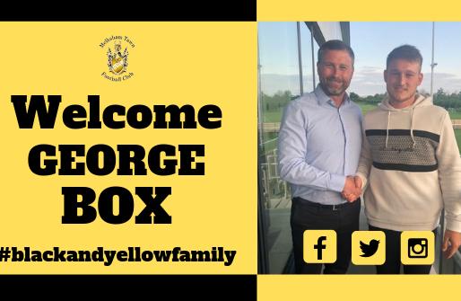 George Box commits to MTFC