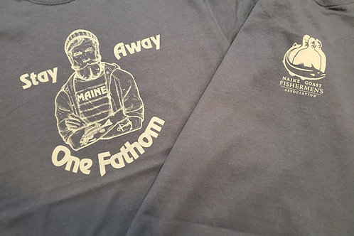 One Fathom Away T-Shirt Blue