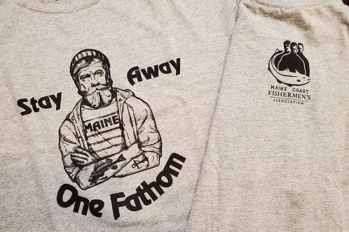 One Fathom Away T-Shirt Gray