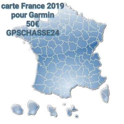 Carte France topo 2021 pour Alpha ou Astro Garmin