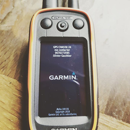 Alpha 100 Garmin version originale usa