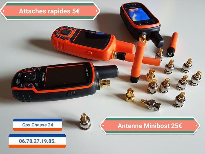 Raccord Attache Rapide 1/4 de tour BNC kit