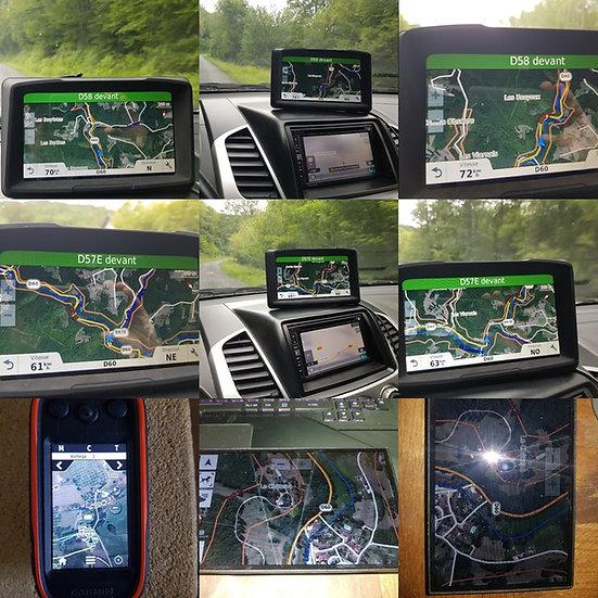 Tablette Drivetrack 71 avec cartes topo fr et sattelite 2020