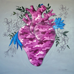 """Corazón Camuflaje"""