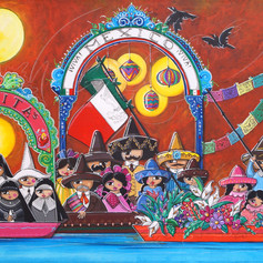 """""""La Faraona de Xochimilco"""""""