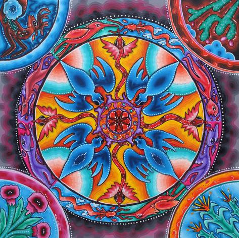 Mandala Wixarika