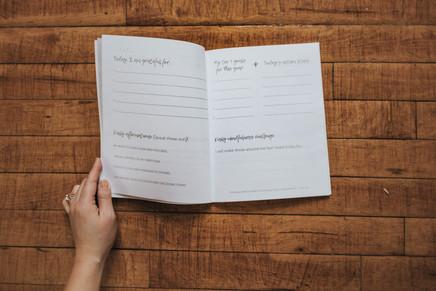 30 Day Mind Shift Journal inside