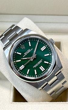 "Rolex Oyster Perpetual 2020 ""Emerald Green"""