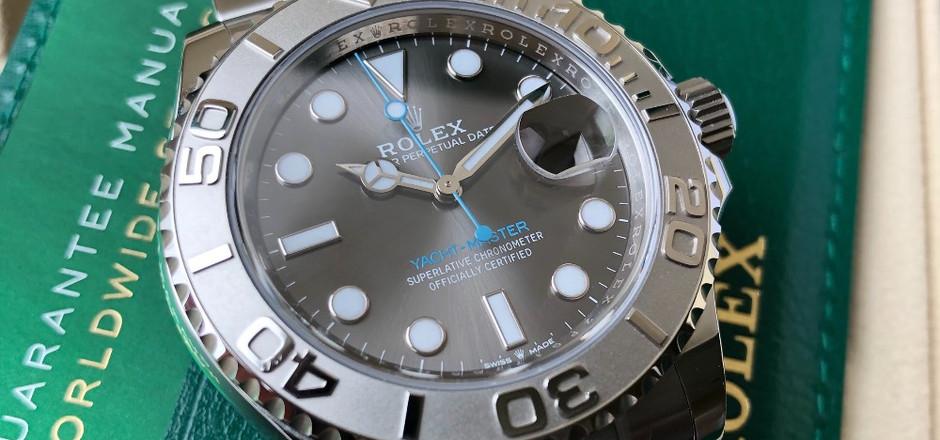 Rolex Yachtmaster Rhodium 126622