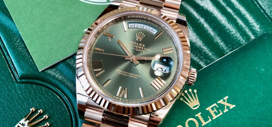 Rolex Day Date Anniversary 228235