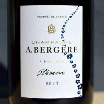 Champagne A. Bergère BRUT - 75cl