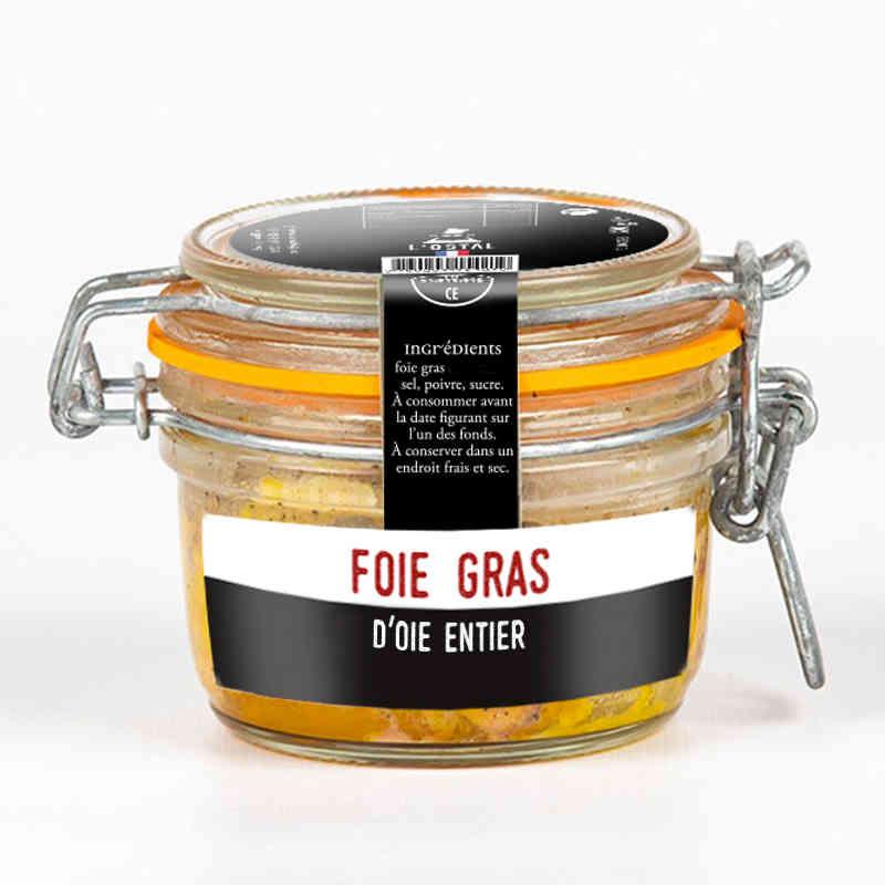 Foie gras d'oie entier - L'Ôstal - 180g