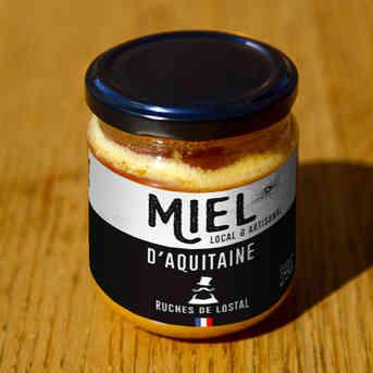 Miel d'Aquitaine - Ruches de L'Ôstal - 250g