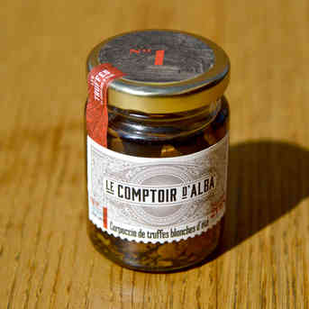 Carpaccio de truffes - Comptoir d'Alba - 80g