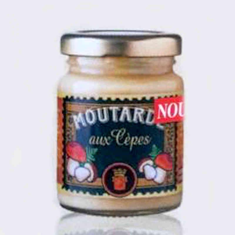Moutarde aux cèpes - Distillerie Louis Roque - 100g