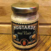 Moutarde aux noix - Distillerie Louis Roque - 100g