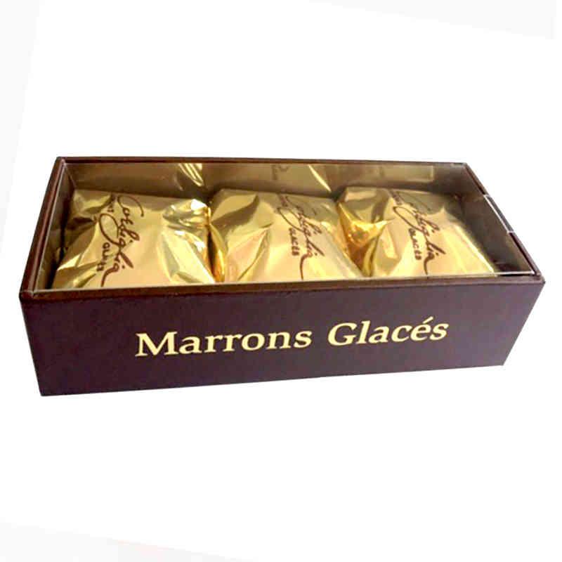 Réglette 3 marrons glacés - Stanislass