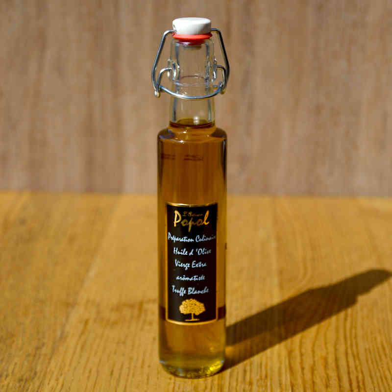 Huile d'olive à la truffe blanche - Popol - 250ml