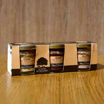 Trio de verrines - Porc Noir de Bigorre - Padouen - 3 x 90g