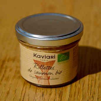 Rillettes de saumon Bio - Kaviari - 90g