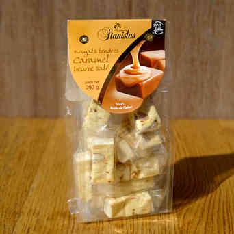 Sachet de Nougats au caramel beurre salé - Stanislass - 200g