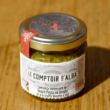 Pesto Basilic - Comptoir d'Alba - 80g