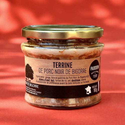 Terrine Noir de Bigorre PADOUEN
