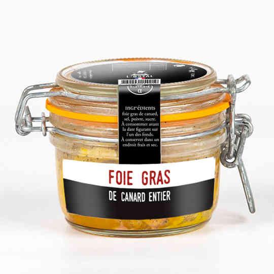 Foie gras de canard entier - L'Ôstal - 125g