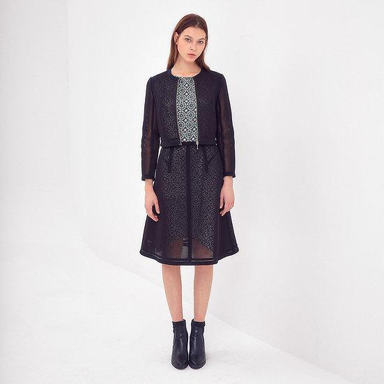 Mesh Jacket & Skirt