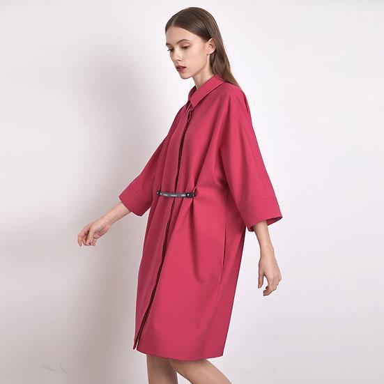Stingray Dress - Hot Pink