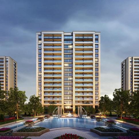 Neubau DGNB-Wohngebiet Nanjing G11