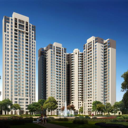 Neubau DGNB-Wohngebiet Guangzhou