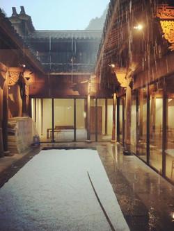 Hofansicht Passivhaus Songyang