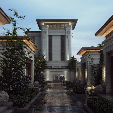 Neubau DGNB-Wohngebiet Peking