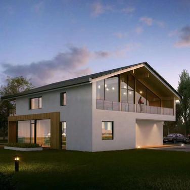 寿光低碳生态小镇示范别墅被动房认证