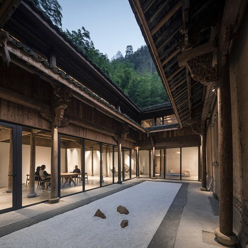 Umbau Passivhaus Hofhaus Songyang