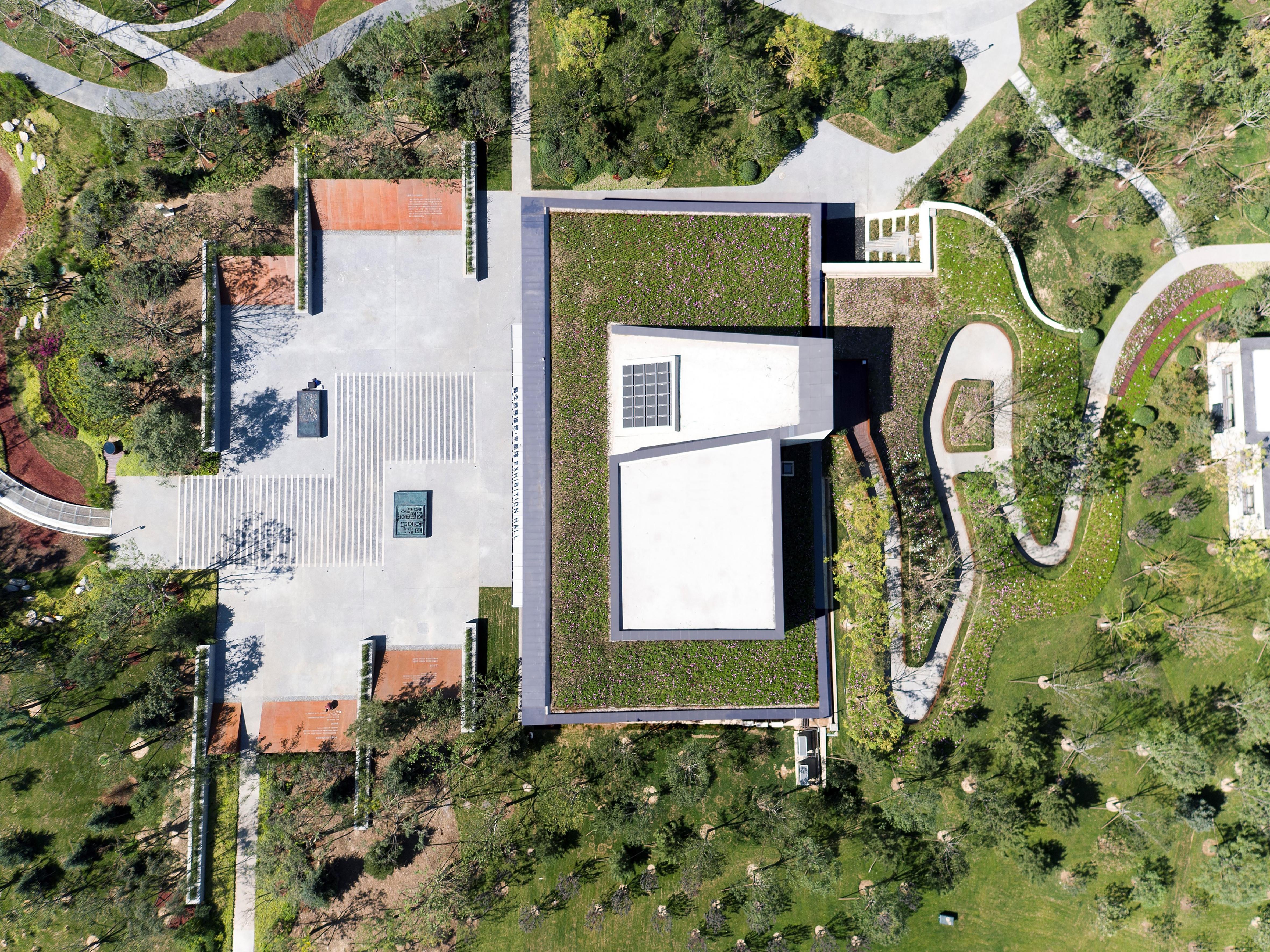 建筑顶视图