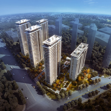 Neubau DGNB-Wohngebiet Nanjing 8-6