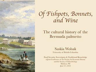 Palmetto presentation Conference 7 June