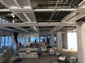 Einde renovatie kantoor complex Janssoenborch naderd