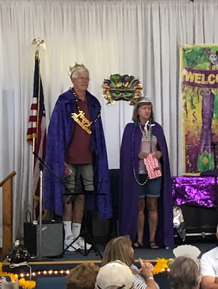 Mardi Gras 2020 King and Queen