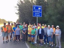 Volunteer Roadside Cleanup Crew