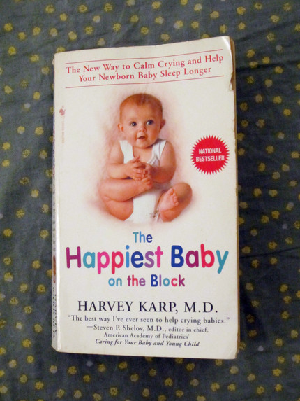 Book Review: The Happiest Baby on the Block by Harvey Karp, M.D.