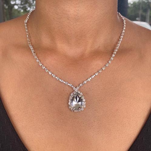 Oval Keepsake Necklace Set