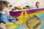 princess peach 8-bit digital cntemporary art oil paintng kids nintendo tanks m-1 m1 abrams howitzer tv signal test